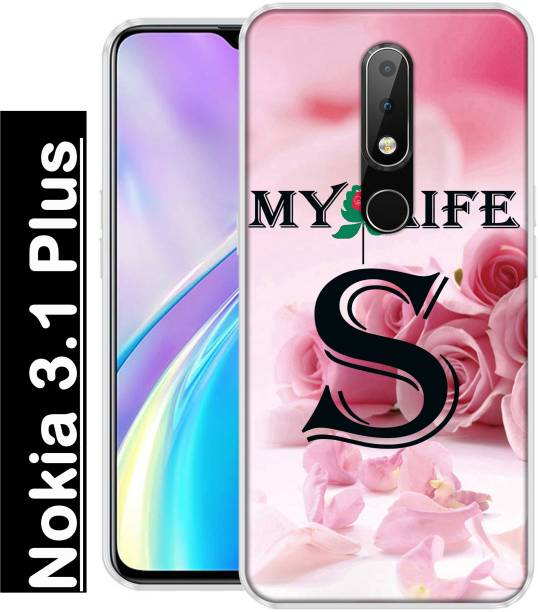 INDIALAND Back Cover for Nokia 3.1 Plus
