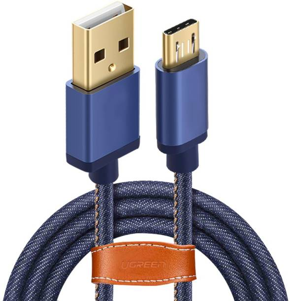 WeCool UGREEN Micro USB Cable Denim 5 A 1 m Nylon Braided Micro USB Cable