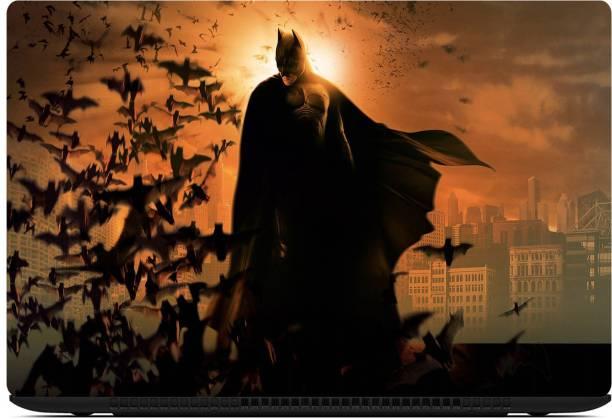D.V TECH EXCLUSIVE BATMAN LAPTOP SKIN VINYL 15.6 INCH BLACK VINYL Laptop Decal 15.6