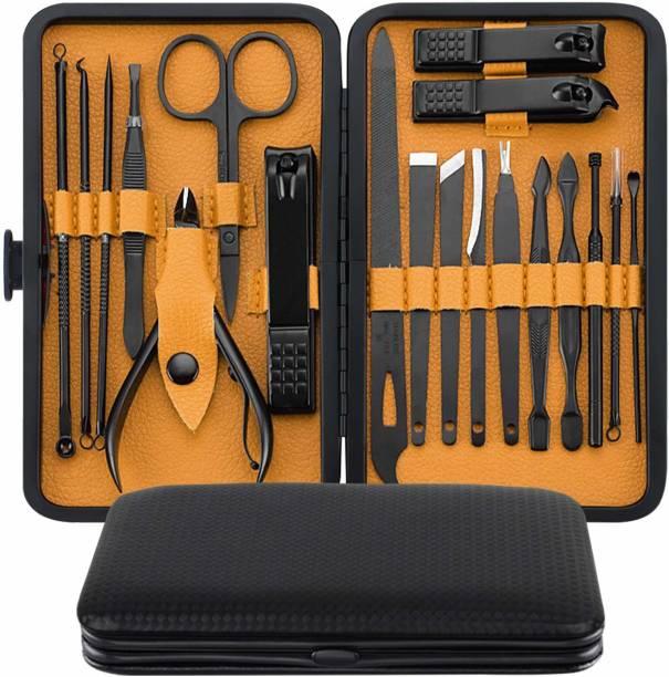 Beauté Secrets Manicure Kit, pedicure tools for feet, Nail Cutters, Manicure Pedicure kit for women and Men