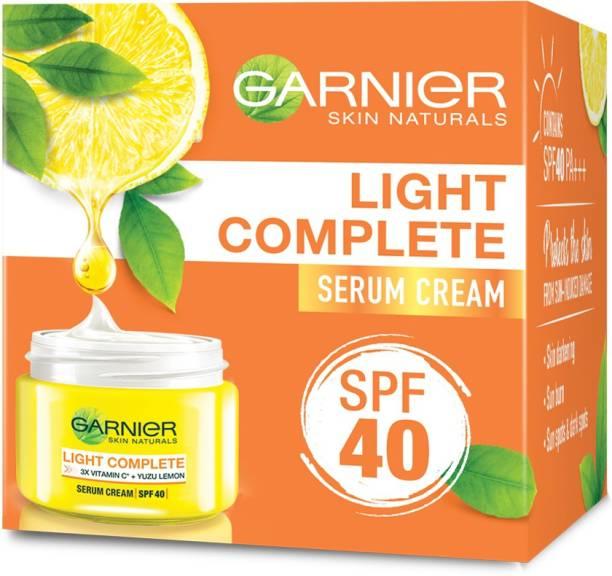 GARNIER Skin Naturals Light Complete Fairness Serum Cream with SPF 40