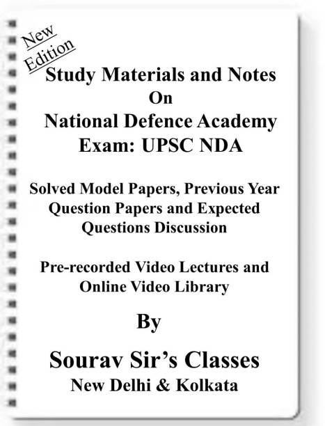 National Defense Academy Exam UPSC NDA [ PACK OF 4 BOOKS ] Study Material +MODEL SOLVED PAPERS+SUGGESTION PAPERS+PREVIOUS YEAR SOLVES+VIDEO PRERECORDED LECTURES BACKUP ONLINE