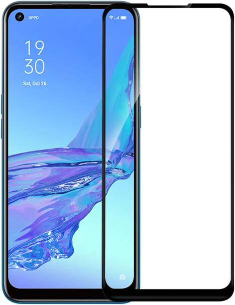 Hupshy Edge To Edge Tempered Glass for Oppo A53, Oppo A33