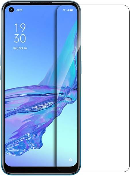 Hupshy Tempered Glass Guard for Oppo A53, Oppo A33