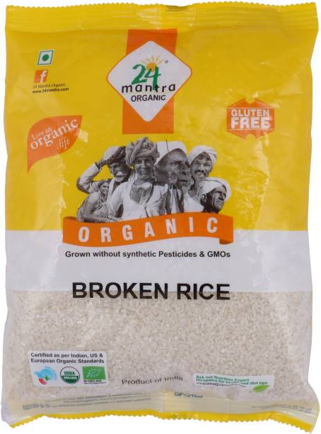 24 mantra ORGANIC Broken Sona Masoori Rice