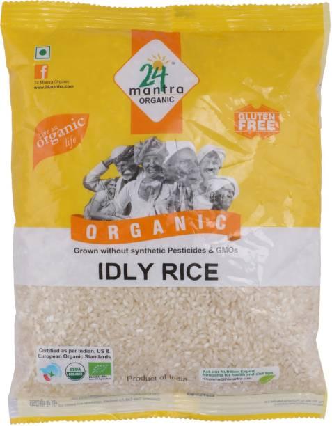 24 mantra ORGANIC Idly Rice (Small Grain)