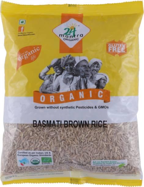 24 mantra ORGANIC Brown Basmati Rice (Medium Grain)