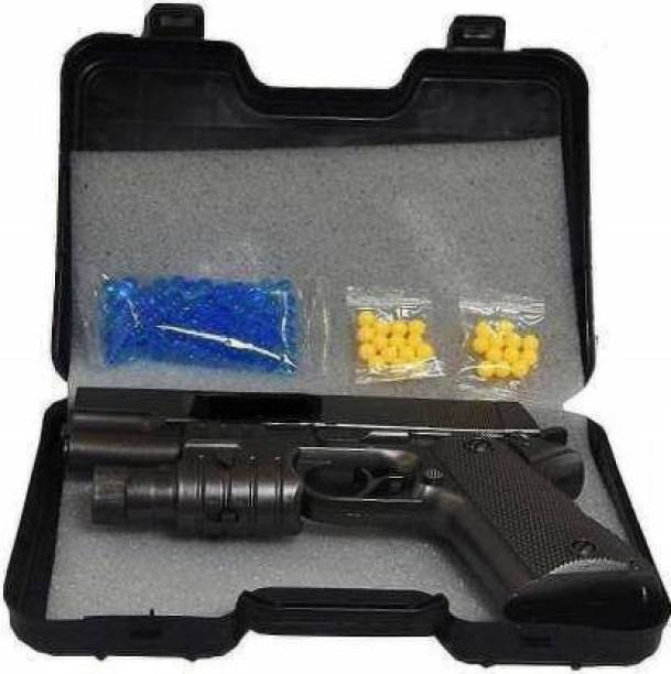DhyeyCollection PUBG Shooting Pistol Toy Gun With Suitcase, Bullets for Kids Guns & Darts Guns & Darts
