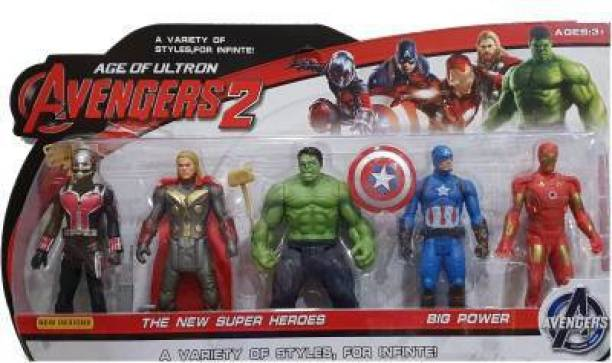 Elite Avengers Endgame Action Figure of 5 Super Heroes