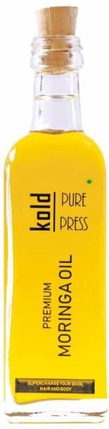 KOLD PURE PRESS Natural Moringa Oil | For Hair, Skin & Anti-Ageing Face Care Hair Oil