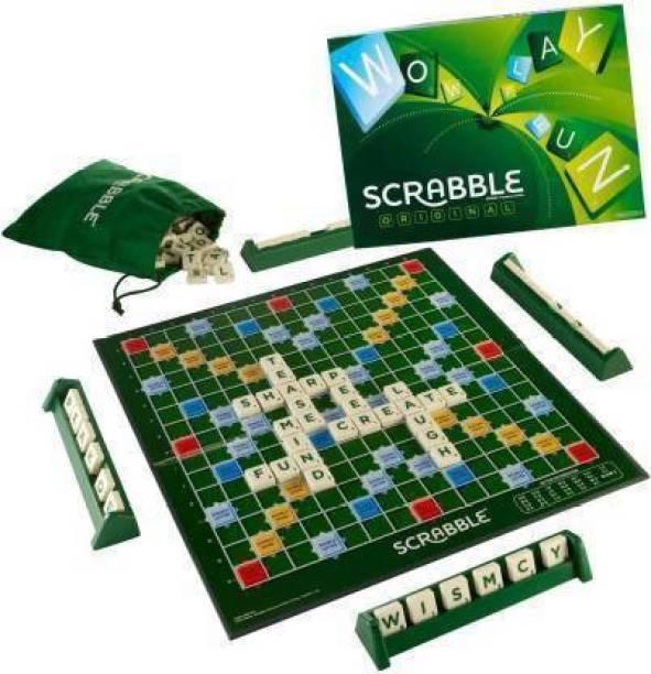 FRUNZA Mattel Scrabble Original - Brand Crossword Board Game Board Game Accessories Board Game