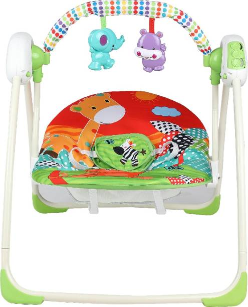 Miss & Chief Deluxe Portable Swing Small Musical Bouncer