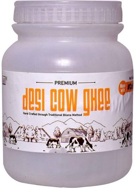 Sun Grow Home Made Pure Desi Cow Ghee Handmade Belona Ghee Premium Cow Milk Ghee 850gm Ghee 850 g Mason Jar