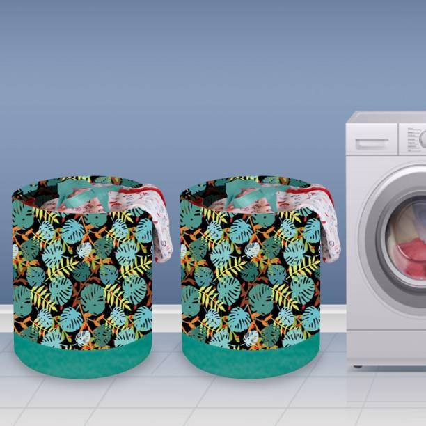 Flipkart SmartBuy 58 L Green Laundry Basket