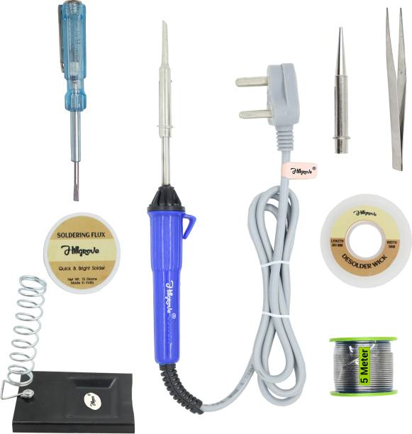 Hillgrove 8in1 25W Soldering Iron Kit 25 W Simple
