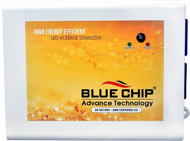 BLUECHIP BL60SmartTV3.1Amp TV Voltage Stabilizer for LED TV/Smart TV Up to 60+ Inches + Set Top Box + home theater , With 3 Years Warranty