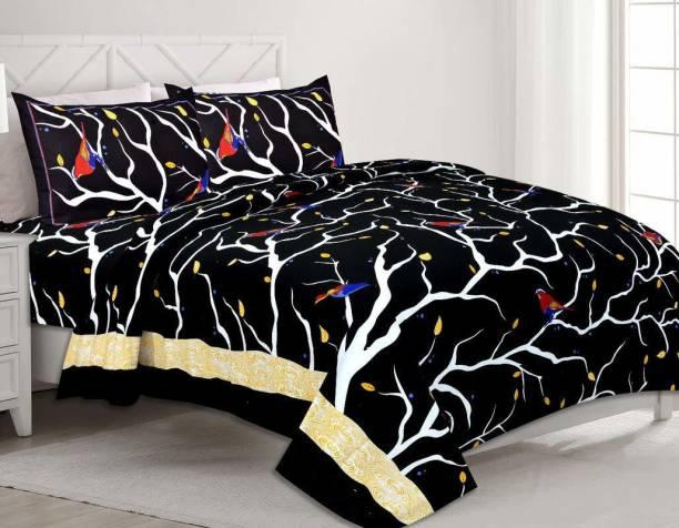 crafton 160 TC Cotton Double King Printed Bedsheet