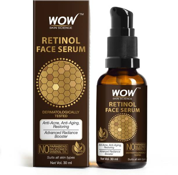 WOW SKIN SCIENCE Retinol Face Serum - OIL FREE