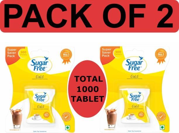 Sugar free Gold 500 Pellets ( Pack of 2 ) Sweetener