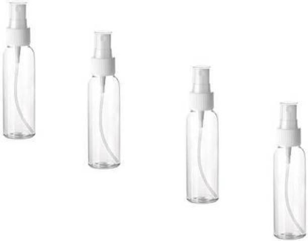 Legion Transparent Empty Spray Bottle 100 ml Bottle(4 pcs) 100 ml Spray Bottle