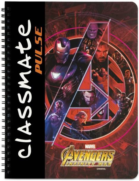 Classmate Pulse Book-size Notebook Unruled 180 Pages