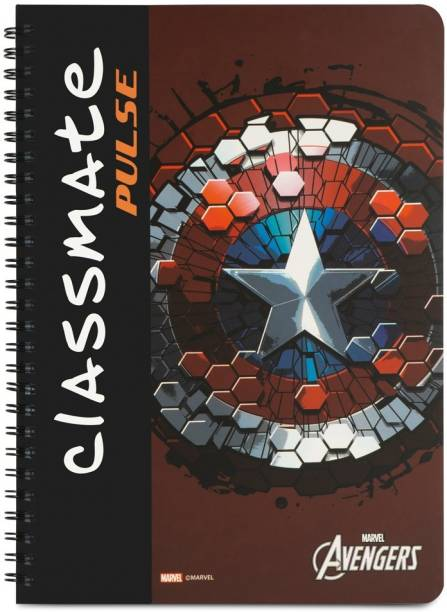 Classmate Pulse A4 Notebook Unruled 180 Pages