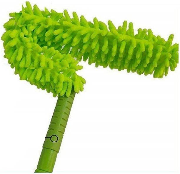Rexez Cleaning Brush Feather Microfiber Duster with Extendable Rod Dust Cleaner Fit Ceiling Fan Car Home Office Cleaning Tools (Multicolour) Dry Duster
