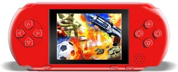 Clubics PVP Video Game Handheld Gaming Console (RED) 1 GB with SUPER MARIO