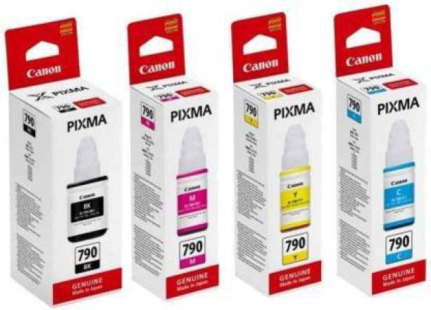Canon 790 G1010 G2000 G2002 G2010 G2012 G3000 G3010 G3012 G4000 G4010 Printers Black + Tri Color Combo Pack Ink Bottle