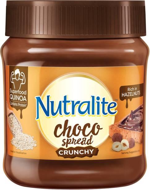 Nutralite Choco Spread Crunchy Quinoa| Hazelnut Spread|Uses Premium Chocolate 275 g