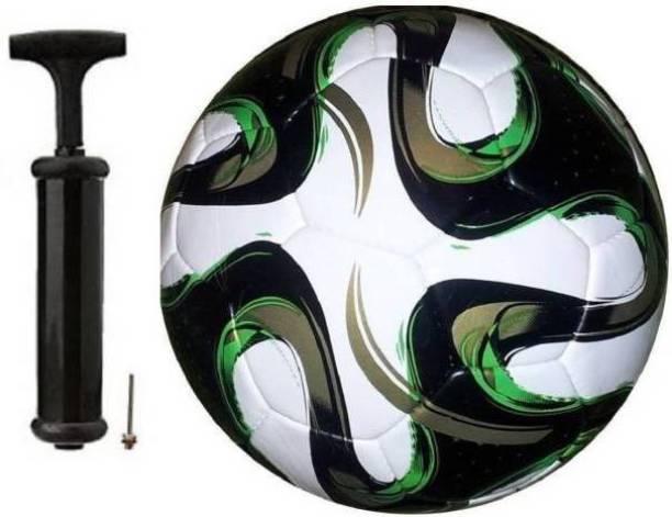 DIBACO SPORTS GOLD BRAZUCZA FOOTBALL WITH AIR PUMP Football Kit