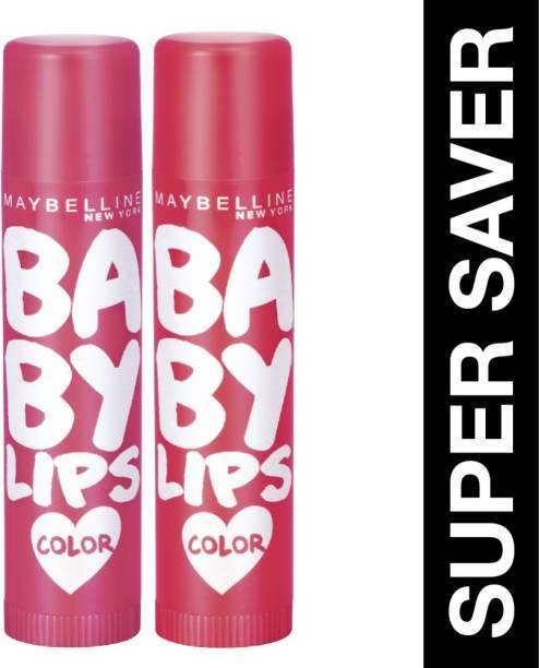 MAYBELLINE NEW YORK Baby Lips Cherry Kiss & Berry crush