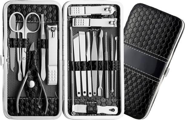 MACPLUS 18 in 1 Manicure Pedicure Kit with Nail Cutter ,