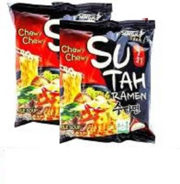 Samyang Sutah Ramen Instant Noodles-120gm (Pack of 2) (Imported) Instant Noodles Non-vegetarian