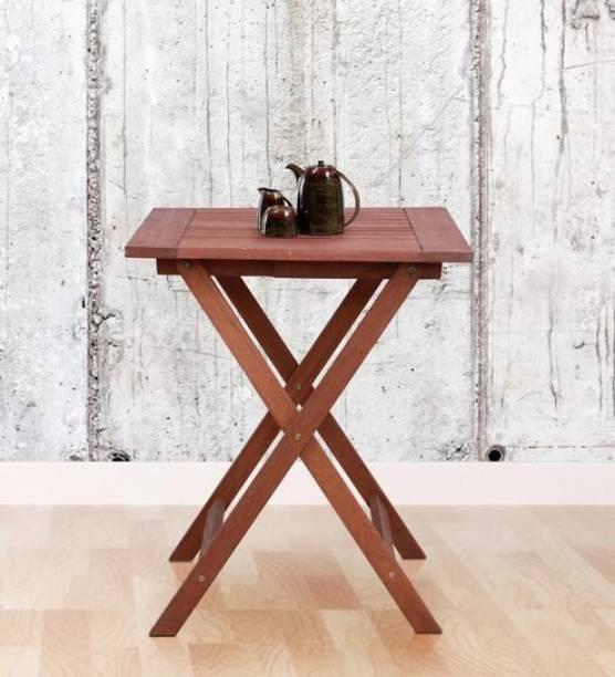 spacepanda Coffee Table Solid Wood Outdoor Table