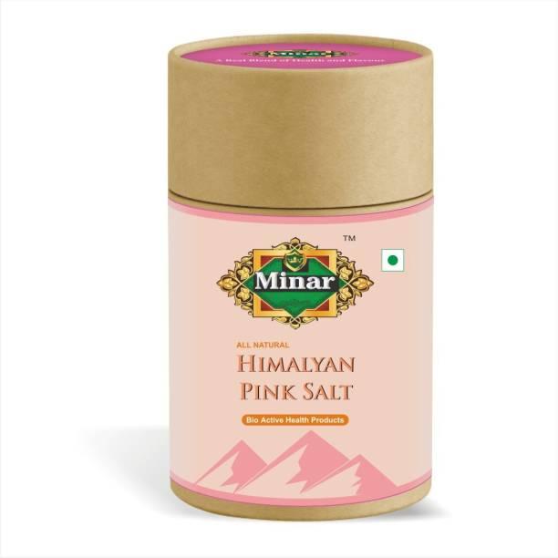 Minar 100% Natural & Organic Himalayan Pink Salt for Weight Loss & Healthy Cooking - 300gm Himalayan Pink Salt