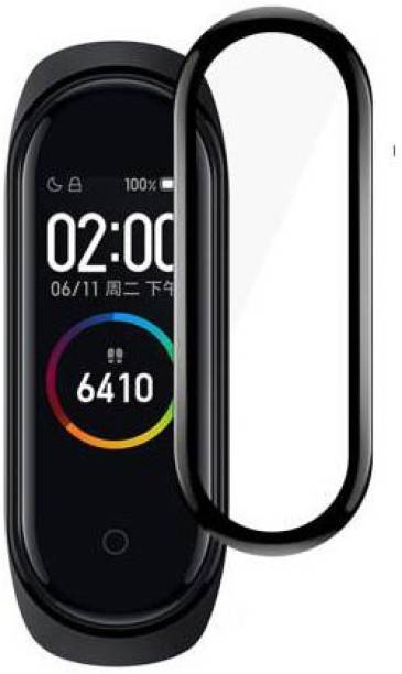 stylist sky Edge To Edge Tempered Glass for MI Band 4 (Watch)