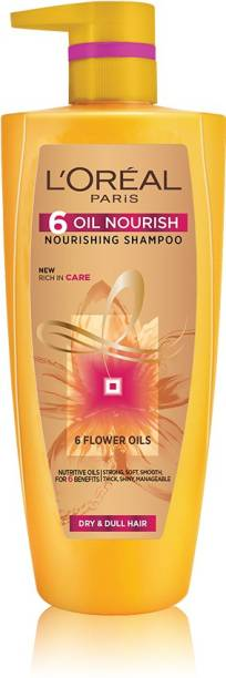 L'Oréal Paris 6 Oil Nourish Shampoo, 1 ltr