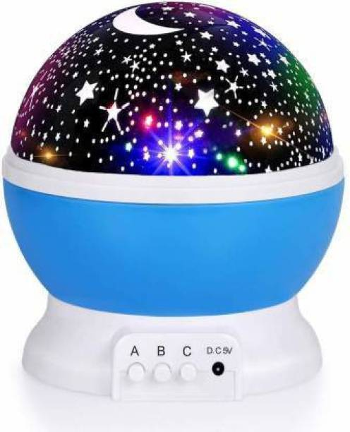 JMALL Star Projector Light Lamp Starry Moon Sky Night Light Table Lamp