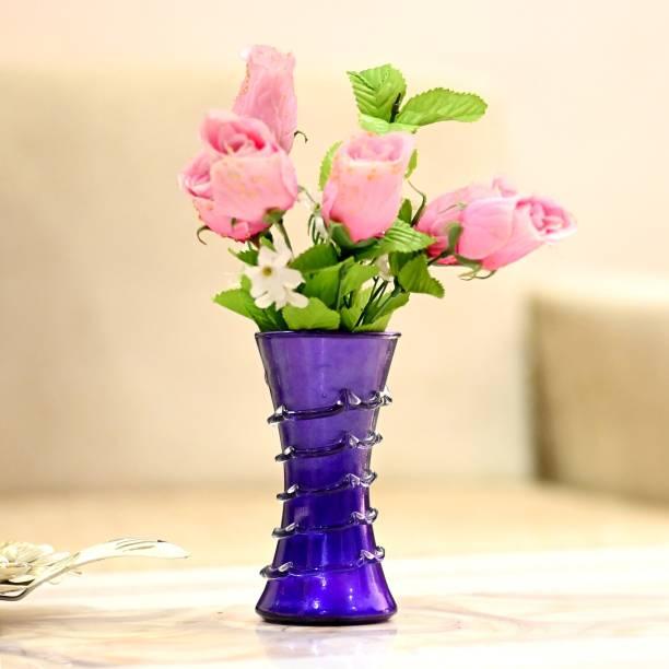 1st Time Stylish Colorfull Glass Flower Pot / Vase Glass Vase