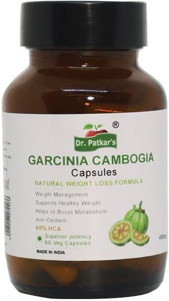 Dr. Patkar's Garcinia Cambogia 60 Vegetarian Capsules