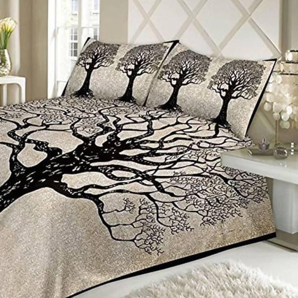 Sonal Textiles 140 TC Cotton Double Printed Bedsheet