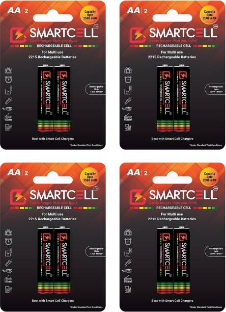 Smartcell AA Ni-MH Rechargeable 2500mAH  Battery