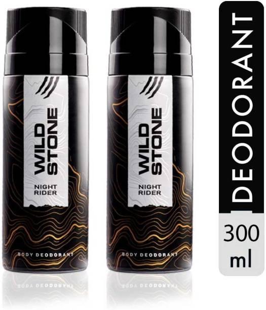 Wild Stone Night Rider Deodorant Spray  -  For Men