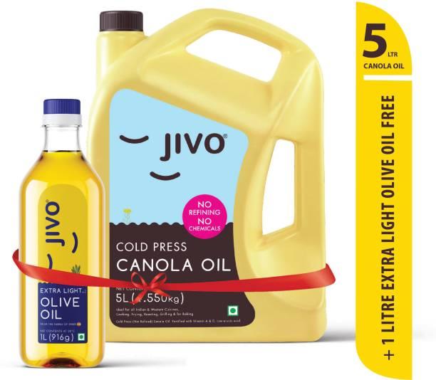 JIVO Canola Oil Can