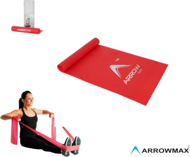Arrowmax THERABAND/RESISTANCE BAND FOR WORKOUT AND TRAINING(MEDIUM) Fitness Band