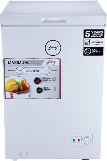 Godrej 100 L Single Door Standard Deep Freezer