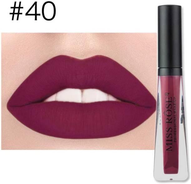 MISS ROSE High Quality Metallic Matte Lip gloss
