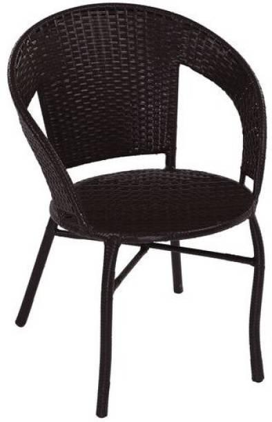 spacepanda Wicker Metal Outdoor Chair