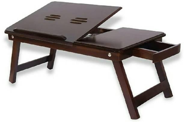 J D Enterprises Wood Portable Laptop Table
